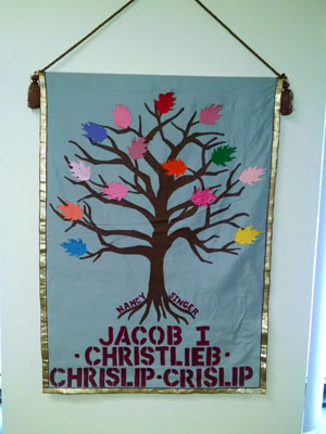Family banner for Jacob Christlieb