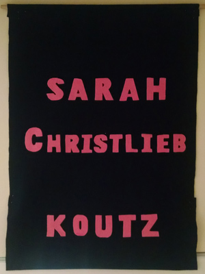 Family banner for Sarah Christlieb