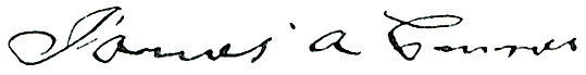 James A. Connor's Signature
