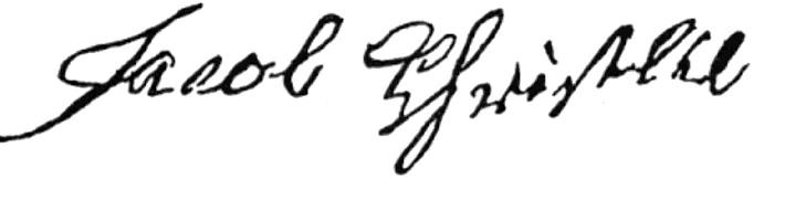 Jacob Christlieb Signature